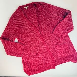 💰SALE Seven 7 Soft Cardigan Berry Colored